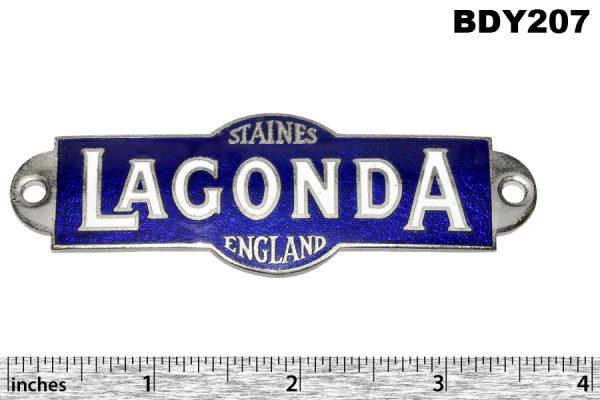 Blue enamel badge pre 1932