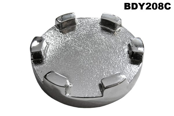 Castellated tank cap 2L & 3L, in Chrome