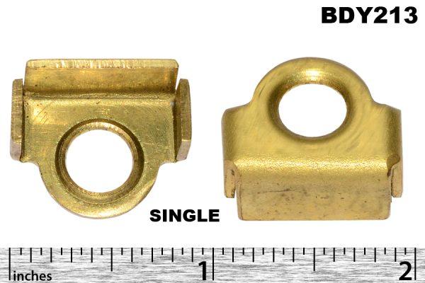 Door buffer bracket