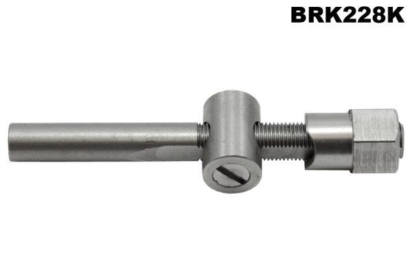 2L, 16/80, 3L rear brake trunnion & adjuster/foot brake/handbrake.