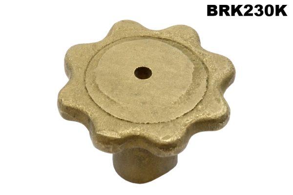 2L brake rod adjuster (unplated).
