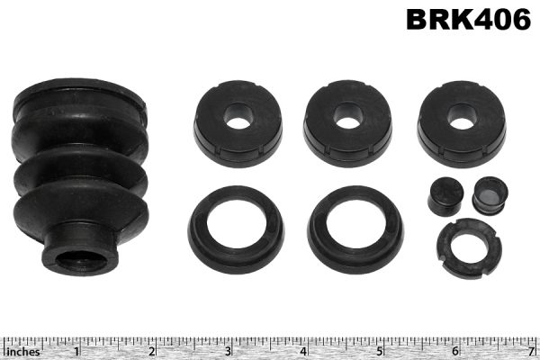 Brake master cylinder kit, LG6, V12