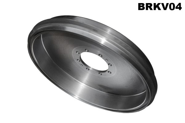 Front and rear brake drum for LG6 and V12 (pair)