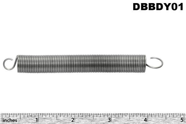 DB petrol filler flap return spring