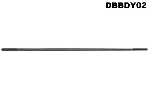 DB Radiator support stay. 15.5ins. 5/16 BSF threaded ends - 2.6L