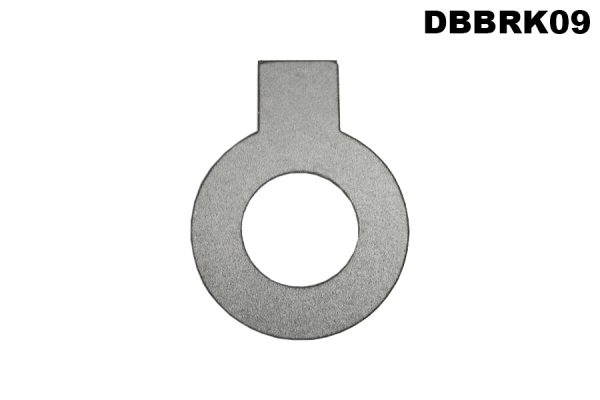 Lock washer, special, brake pedal, intermediate lever pivot boss, DB 2.6L/3L