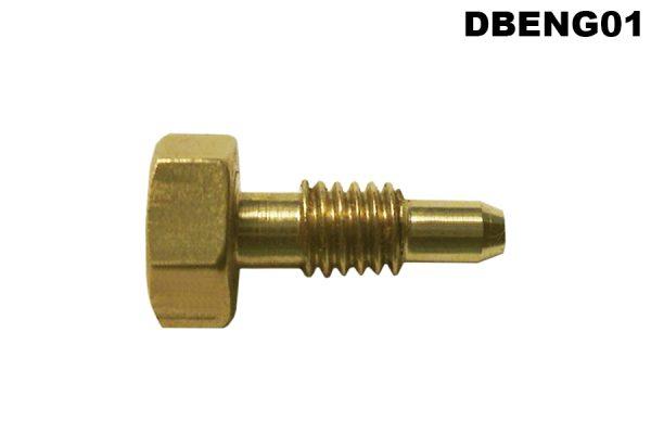 DB2.6 thermostat positioning brass bolt/pin.
