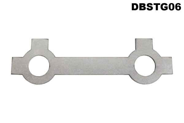 Steering rack lock washer for rack guide sleeve bolts. All 2.6L / 3L models