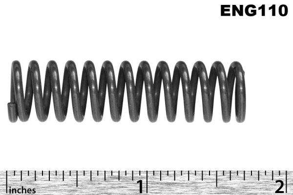 Oil pressure relief valve spring, 16/80