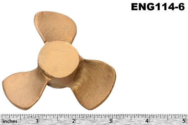 High water pump impeller, unmachined, 16/80