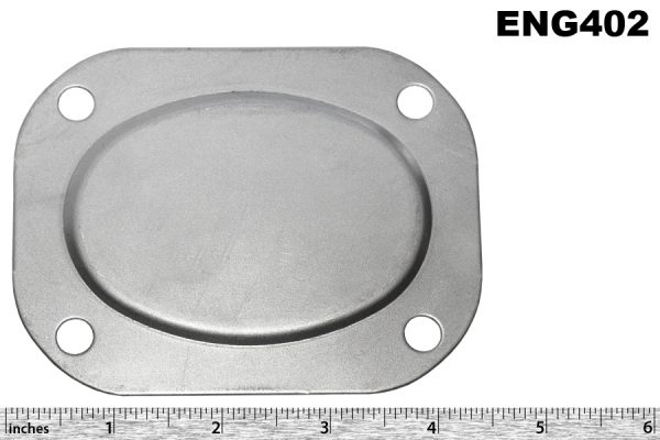Rear head blanking plate, M45