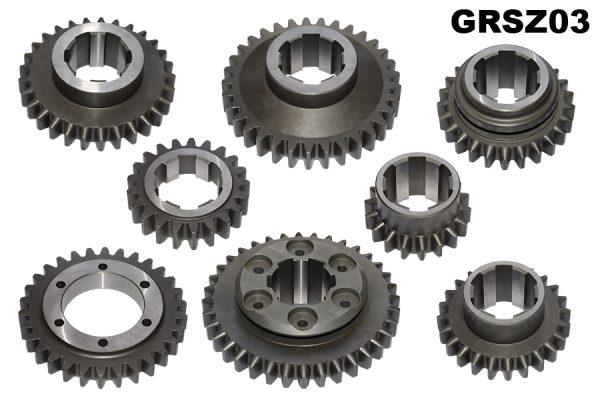 Complete set of Z gears, alternative 3rd gear ratio.